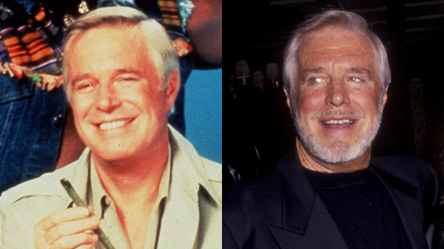 "PHOTO: George Peppard starred as John Smith in ""The A-Team."""