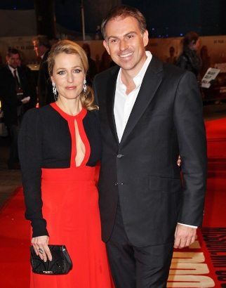 Gillian Anderson and Mark Griffiths Split After Six Years