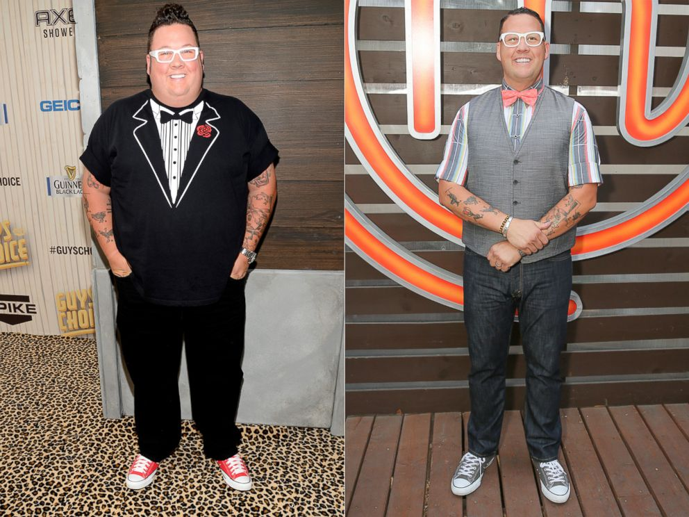 graham from masterchef weight loss
