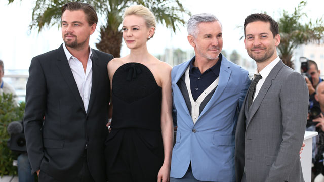 PHOTO: Actor Leonardo DiCaprio, actress Carey Mulligan,  Director Baz Luhrmann and actor Tobey Maguire attend 'The Great Gatsby' photocall during the 66th Annual Cannes Film Festival at the Palais des Festivals on May 15, 2013 in Cannes, France.