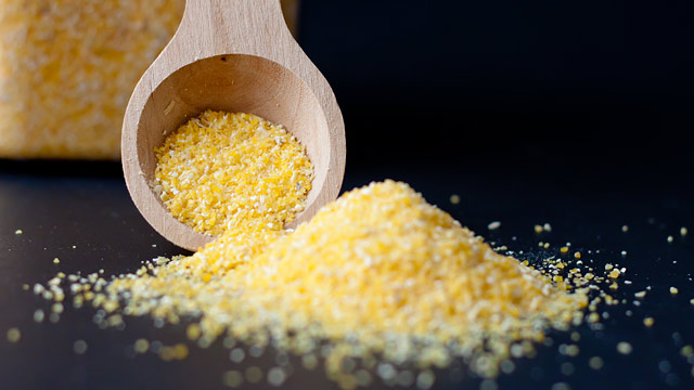 PHOTO: A scoop of grits is shown.