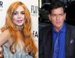 PHOTO: Lindsay Lohan and Charlie Sheen