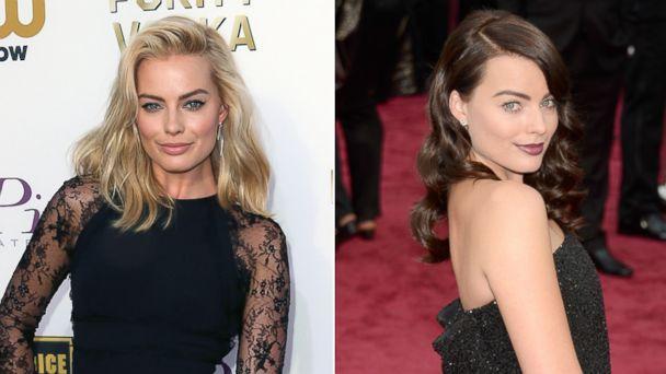 gty gty margot robbie brunette kb 140302 16x9 608 Oscars 2014: Do You Recognize Margot Robbie With New Do?
