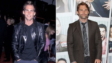 "PHOTO: Actor Seann William Scott attends the ""Teaching Mrs. Tingle"" Westwood Premiere on August 11, 1999 at the Mann Bruin Theatre in Westwood, Calif. and, right, at the Ireland premiere of 'American Pie: Reunion' at Savoy on April 18, 2012 in Dublin, Ire"