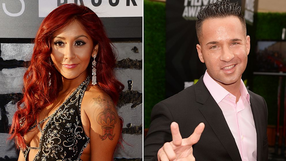 "PHOTO: Nicole ""Snooki"" Polizzi and Mike ""The Situation"" Sorrentino"