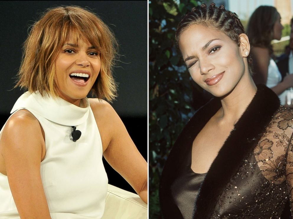 PHOTO: Halle Berry is seen on Feb. 2, 2016 and March 10, 1998.