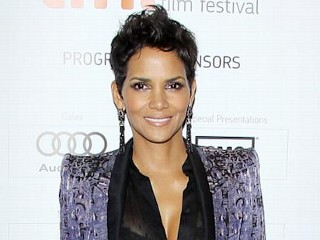 Photos: Halle Berry's See-Through Shirt