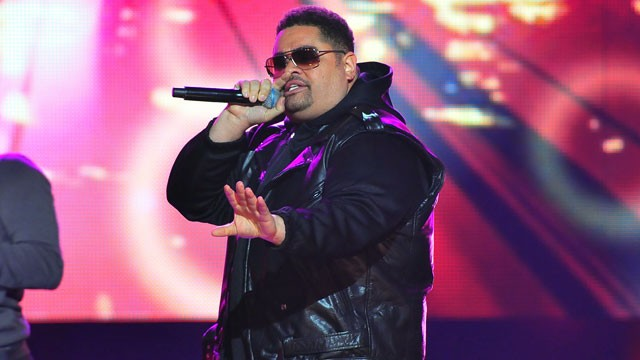PHOTO: Heavy D is shown performing during the BET Hip Hop Awards 2011 at the Atlanta Civic Center, October 1, 2011 in Atlanta, Georgia.