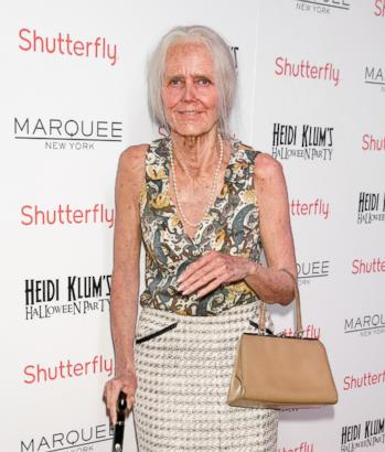 Supermodel Transforms Into Wrinkly Granny for Halloween