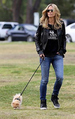 Meet Heidi Klum's New Puppy, Buttercup!