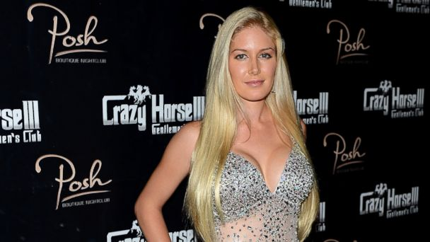 PHOTO: Television personality Heidi Montag arrives at the Crazy Horse III Gentlemens Club to celebrate Spencer Pratts 30th birthday on August 31, 2013 in Las Vegas.