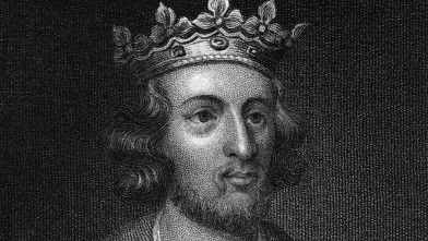 PHOTO: King Henry the III is hsown in this artwork.