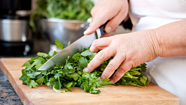 PHOTO: Herbs add a powerful, distinct flavor to a dish.