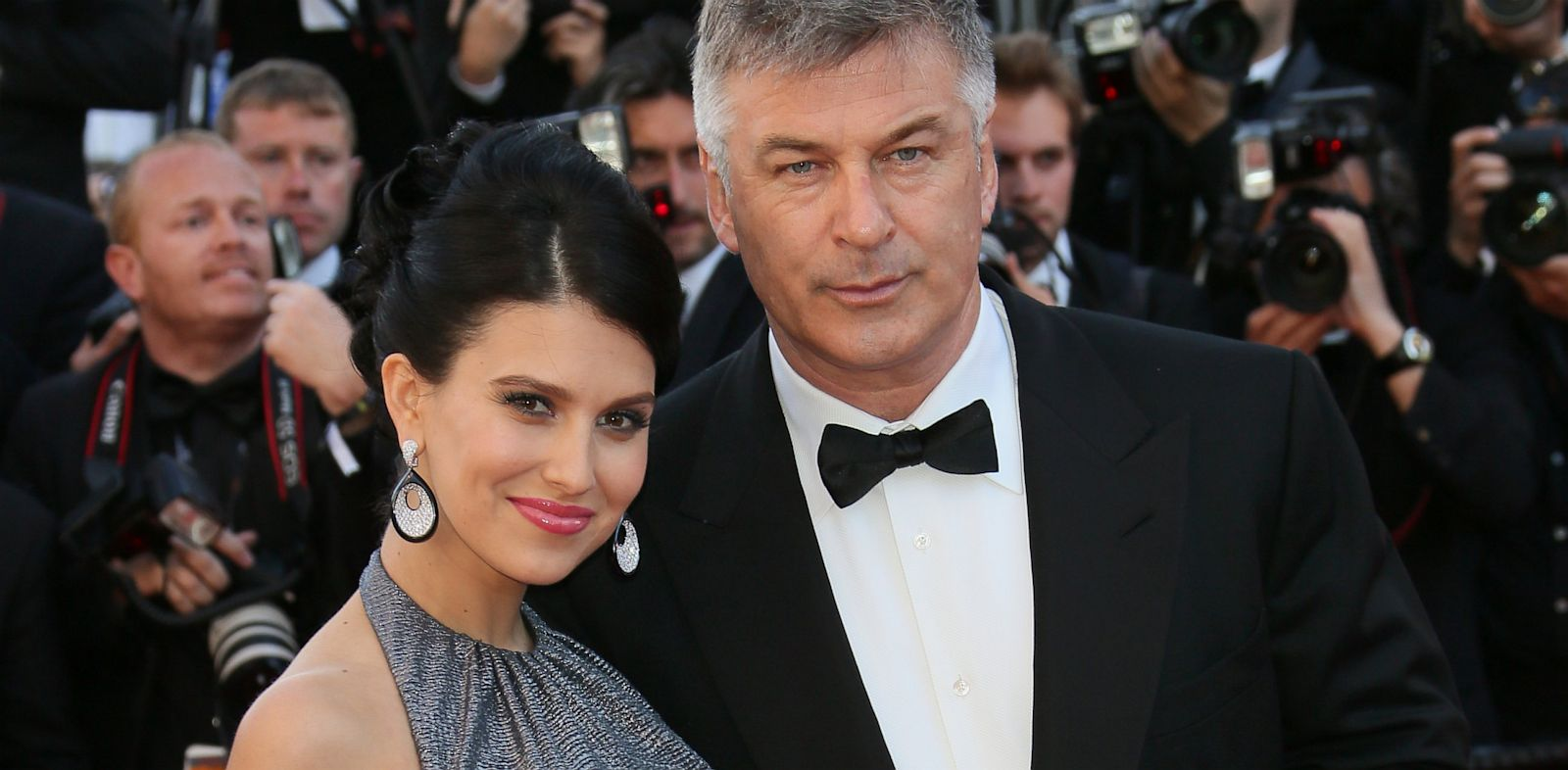 PHOTO: Alec and Hilaria Baldwin