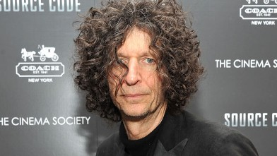 PHOTO: Howard Stern attends the Cinema Society & Coach screening of &quot;Source Code&quot; at March 31, 2011 in New York City.