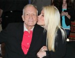 PHOTO: Hugh Hefner and Crystal Harris