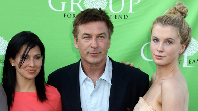 PHOTO: Hilaria Thomas, Alec Baldwin, and Ireland Baldwin attend the Group For The East End's 40th Anniversary Benefit And Auction at Wolffer Estate Vineyard, June 23, 2012, Sagaponack, N.Y.