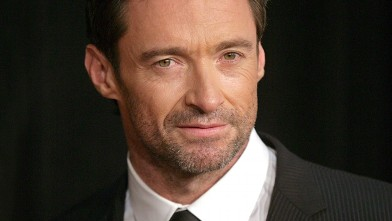 "PHOTO: Actor Hugh Jackman attends the  ""Les Miserables"" New York premiere at Ziegfeld Theatre on December 10, 2012 in New York City."