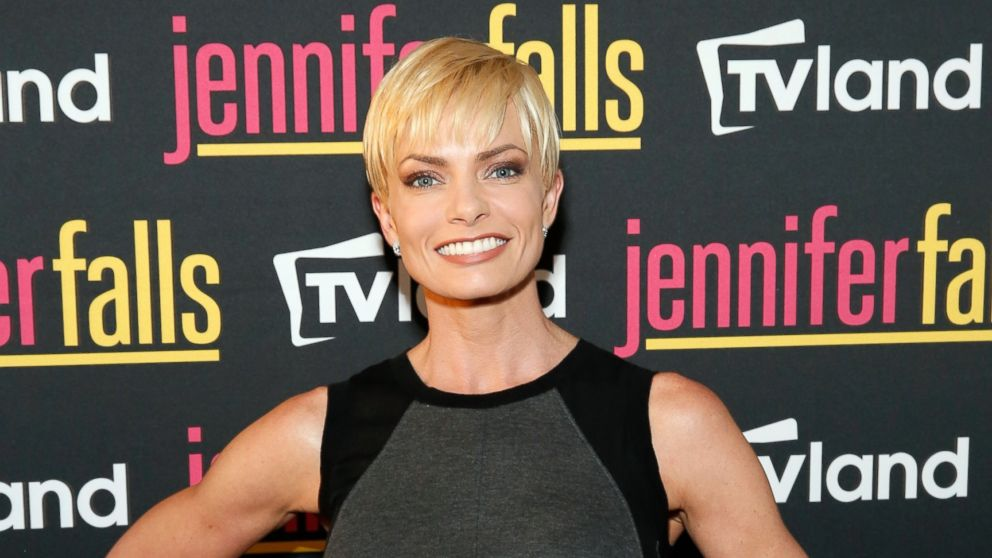 "PHOTO: Jaime Pressly at TV Lands ""Jennifer Falls"" premiere party at Jimmy At The James Hotel in New York City, June 2, 2014."