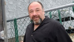 PHOTO: James Gandolfini attends the Friends & Family of Breezy Point
