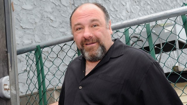 "PHOTO: James Gandolfini attends the Friends & Family of Breezy Point ""Back to the Beach"" Fundraiser, April 20, 2013, in Wantagh, New York."