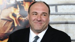 PHOTO: James Gandolfini attends the premiere of