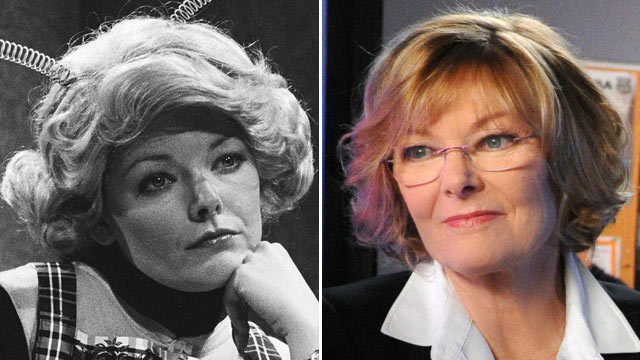 "PHOTO: Jane Curtin as Trixie during ""The Honeymooners"" skit, May 29, 1976. 