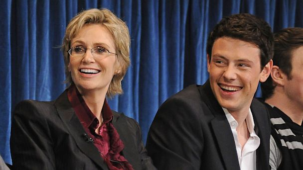 gty jane lynch cory monteith ll 130718 16x9 608 Jane Lynch: Cory Monteith Bright Light In Glee Family