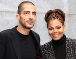 PHOTO: Wissam al Mana and Janet Jackson attend the Giorgio Armani fashion show during Milan Fashion Week, Feb. 25, 2013 in Milan, Italy.