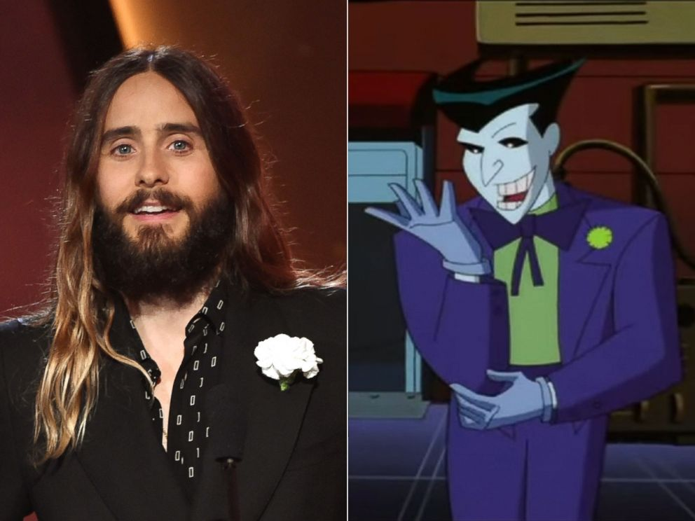 PHOTO: Jared Leto at The Palladium on Nov. 14, 2014 in Hollywood, Calif. | The Joker appears in this screen grab from YouTube.