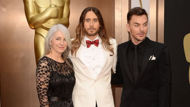 gty jared leto mother kb 140302 16x9 608 Oscars 2014: Jared Letos Touching Acceptance Speech for Winning Role