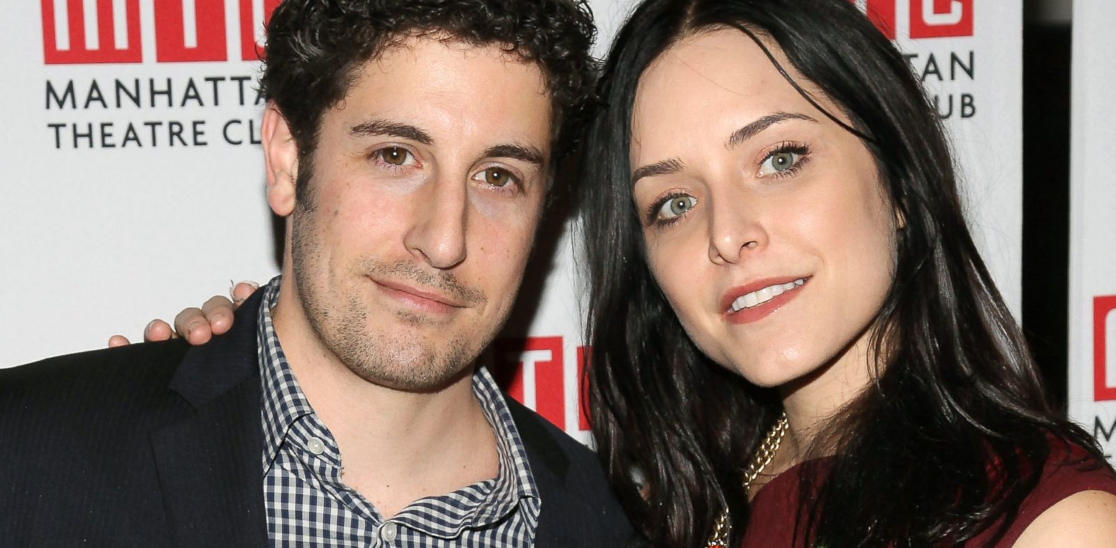"PHOTO: Jason Biggs and wife Jenny Mollen attend the opening night after party for the play ""Golden Age"" in New York, Dec. 4, 2012."