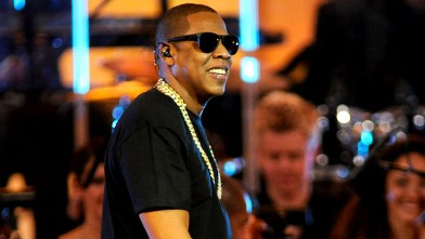 PHOTO: Jay-Z performs at Carnegie Hall to Benefit the United Way of New York City and the Shawn Carter Foundation on Feb. 6, 2012 in New York City.