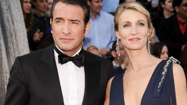gty jean dujardin lamy wy 131114 16x9 608 The Artist Star Jean Dujardin and Wife Split