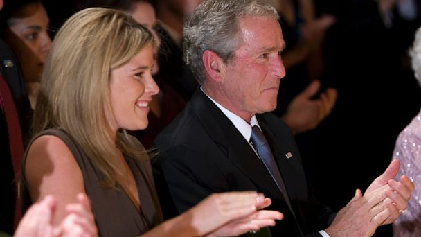 gty jenna hager george bush kb 131008 16x9 608 What Will George W. Bushs Granddaughter Call Him?