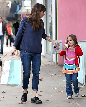 Jennifer Garner and Seraphina's Mommy/Daughter Day