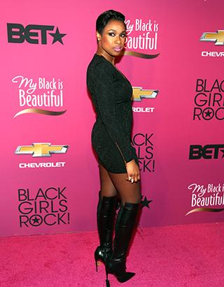 Wow! Jennifer Hudson Reveals Dramatic New 'Do!