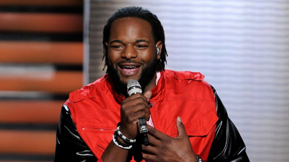 "PHOTO: Contestant Jermaine Jones performs onstage at FOXs ""American Idol"" Season 11 Top 13 Live Performance Show on March 7, 2012 in Hollywood, California."