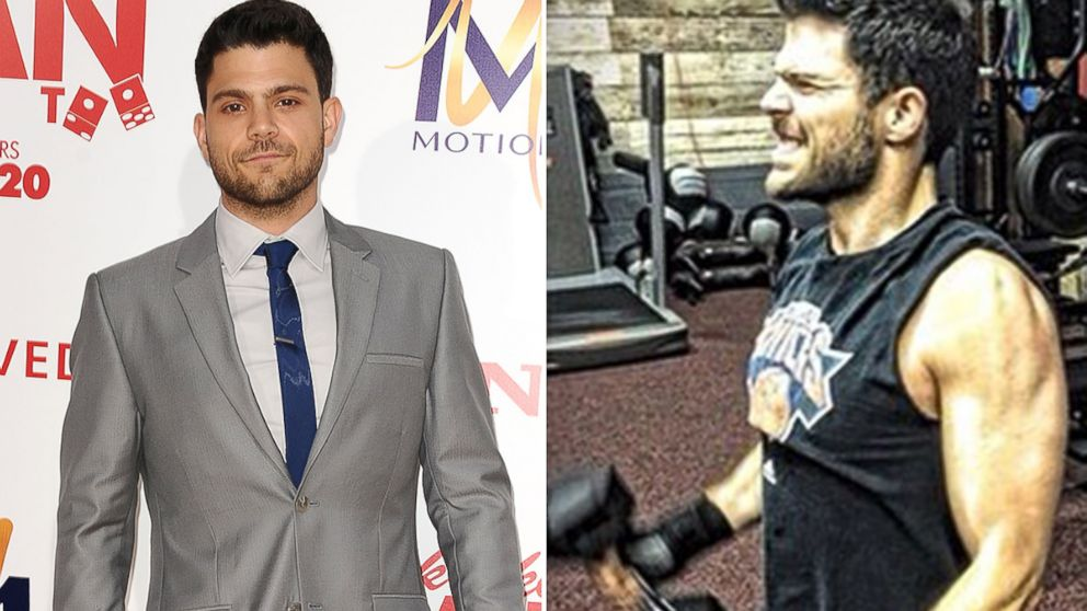 PHOTO: Jerry Ferrara is seen in Hollywood, Calif. on June 9, 2014 and in an Instagram photo posted to his feed on August 7, 2014.