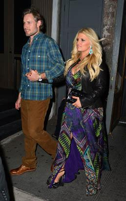 Jessica Simpson Shows Her Stars Picture
