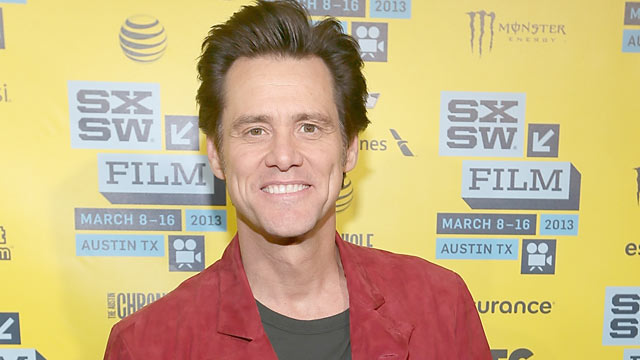PHOTO: Jim Carrey poses on the red carpet for the premiere of The Incredible Burt Wonderstone during the South By Southwest Film Festival on March 8, 2013 in Austin, Texas.