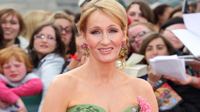 PHOTO: J.K. Rowling attends the world premiere of 'Harry Potter And The Deathly Hallows Part 2' at Trafalgar Square on July 7, 2011 in London, England.