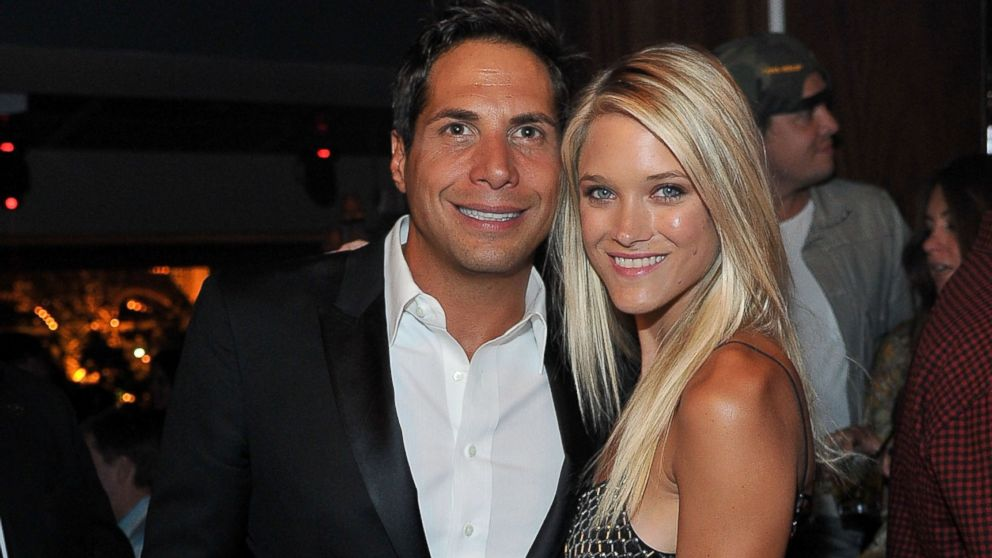 PHOTO: Actress/model Abbey Wilson and Girls Gone Wild founder Joe Francis celebrate Scott Disicks 30th birthday at Hyde Bellagio at the Bellagio over Memorial Day weekend on May 26, 2013 in Las Vegas, Nevada.