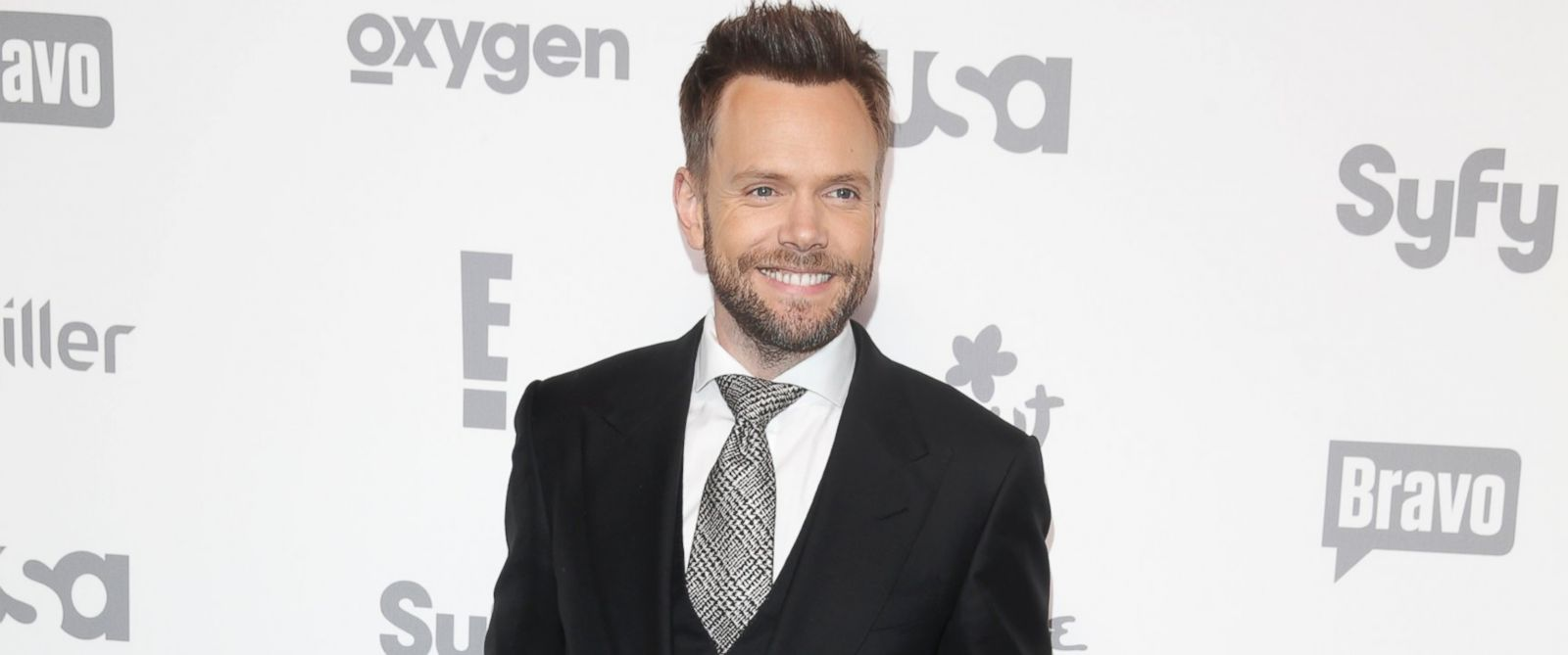 PHOTO: Joel McHale at the Javits Center in New York, May 14, 2015