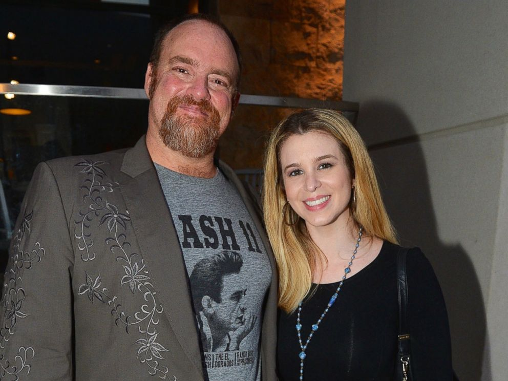 PHOTO: John Carter Cash and Ana Cristina backstage at Country Music Hall of Fame and Museum on July 7, 2015 in Nashville, Tenn.