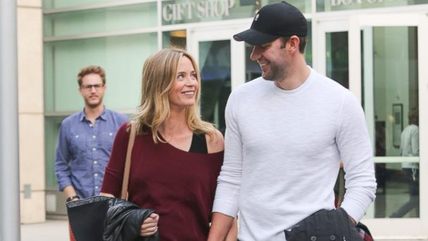 PHOTO: Emily Blunt and John Krasinski are seen on Jan. 4, 2014 in Los Angeles, Calif.