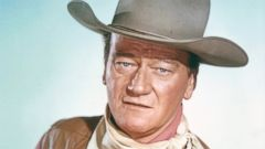 PHOTO: Actor John Wayne is seen in a studio portrait circa 1970.