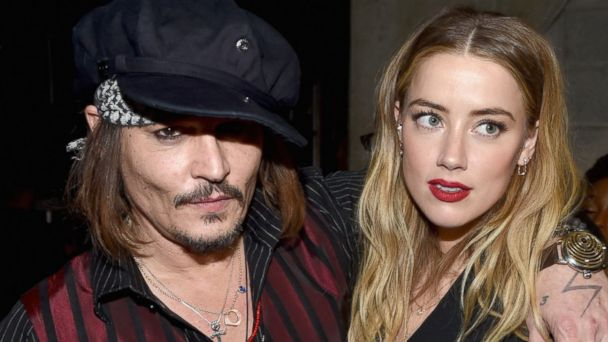PHOTO: Johnny Depp Amber Heard attend The 58th Grammy Awards at Staples Center on Feb. 15, 2016 in Los Angeles.