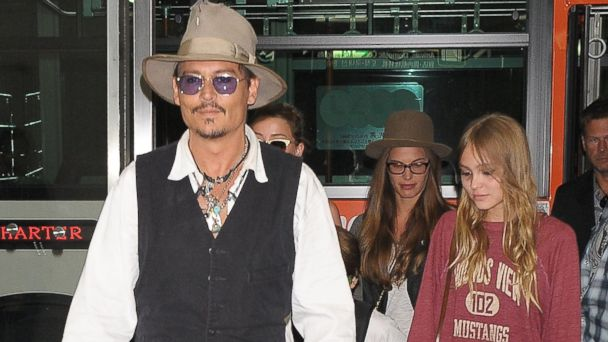 gty johnny depp lily rose mt 140820 16x9 608 Johnny Depp to Co Star with Daughter Lily Rose in New Movie