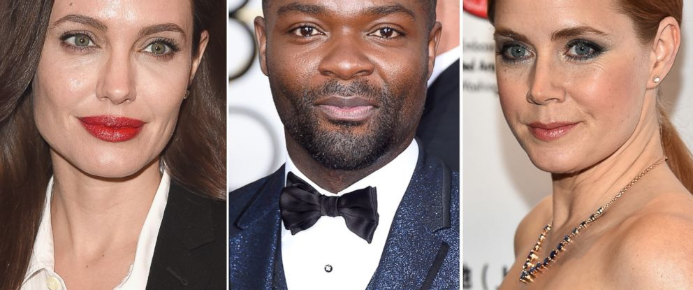 PHOTO: Angelina Jolie, David Oyelowo and Amy Adams.